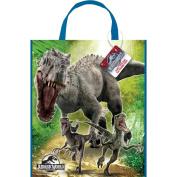 Large Plastic Jurassic World Favour Bag, 33cm x 28cm
