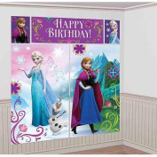 Disney Frozen Scene Setter Plastic Wall Decorating Kit