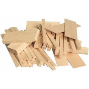 Sax 407055 Balsa Wood in Economy Bag, 1/2 Board Foot, Assorted Sizes