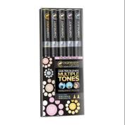 Chameleon Colour Tones Markers 5/Pkg