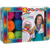 ALEX Toys Craft Crochet A Rainbow Scarf