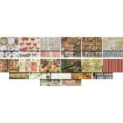 Eclectic Elements Foundations-Tim Holtz 46cm x 50cm Fat Quarters-Fat Quarters