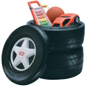 Little Tikes Classic Racing Tyre Toy Chest