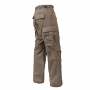 Khaki BDU Pants, Military Fatigues, 2XL