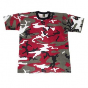 Red Camouflage T-Shirt - X-Large