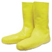 Norcross Safety R3 Safety Servus Disposable Latex Booties - Xx-large Size - 12 Boot Size - 1 Pair - Yellow