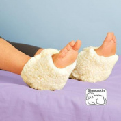 Essential Medical Supply Protectant Sheepskin Heel Protector