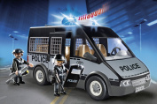 PLAYMOBIL 6043 - City Action - Police Van with Lights and Sound