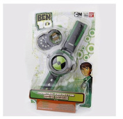 3 Card Projector Watch BANDAI Ben10/Style/Japan Genuine PVC Toys for Kids Children Slide Show Watchband