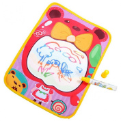 Lookatool® Cute Water Drawing Painting Writing Mat Board + Magic Pen Doodle Toy Gift 36*26.5CM