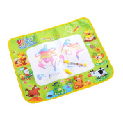 Lookatool® Cute Kids Water Drawing Painting Writing Mat Board & Magic Pen Doodle Toy Gift 58*48CM