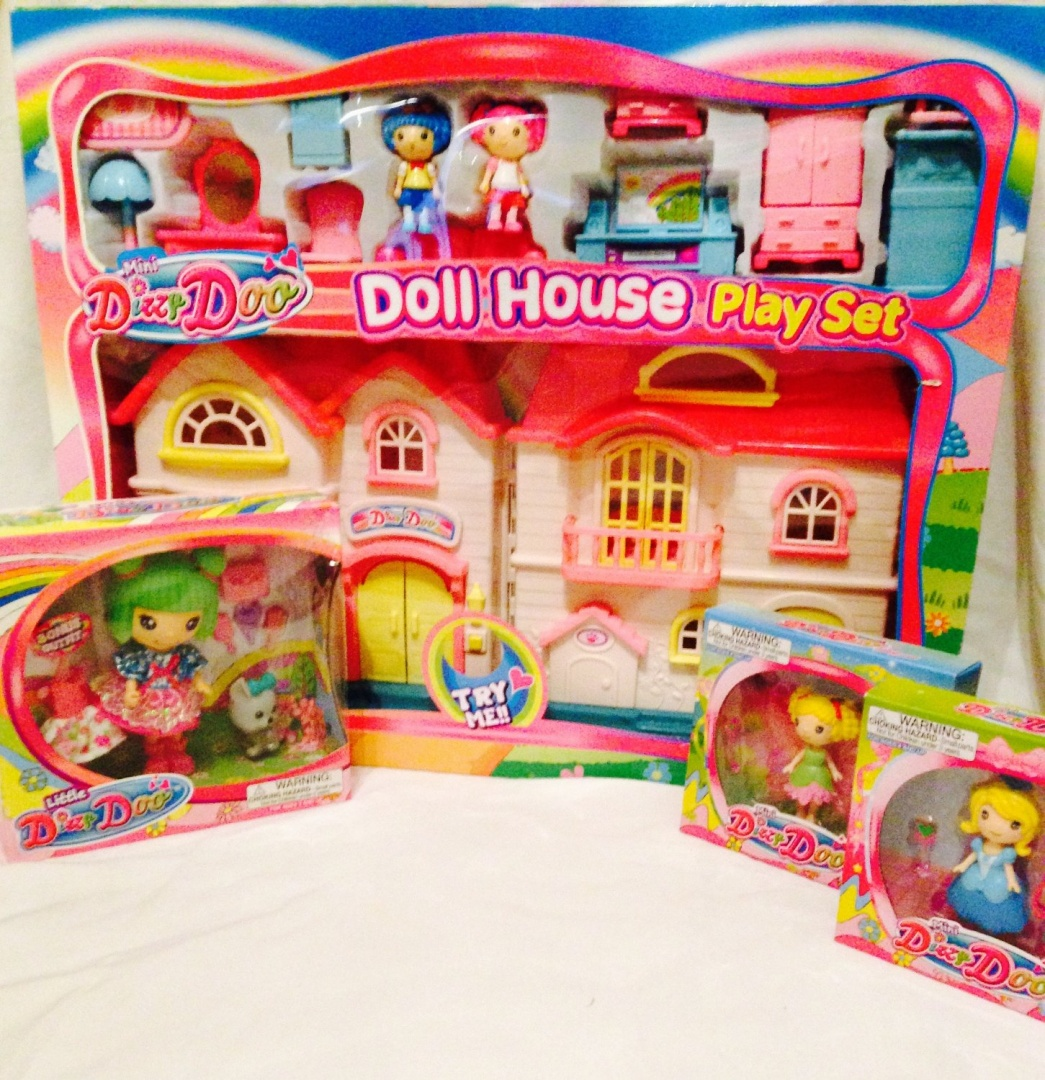 Dizzy Doo Doll House Bundle Doll House With Furniture Large Doll By