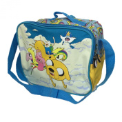 Childrens Cartoon Network Adventure Time School Rainbow Lunch Bag and Bottle