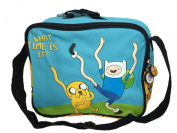Childrens Cartoon Network Adventure Time School What Time is It Lunch Bag and Bottle