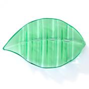 Little Leaf Plastic Soap Dish, Soap Saver Palm Leaf Shaped Dish