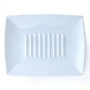 Essential Plastic Soap Dish/saver. Square Shaped Bathroom Counter Dish