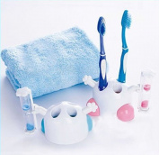 1 X 3 Minutes Hourglass Timer Toothbrush Holder Rack Stand Cute Bathroom Tool