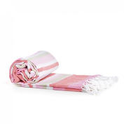 Candy-Striped Turkish Towel