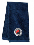 Northern Pacific Embroidered Hand Towel Navy [39]
