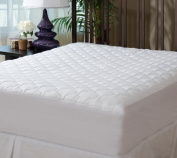 THE GRAND - Mattress Pad Cover - Fitted - Quilted - Full (140cm x 190cm ) - Stretches to 41cm Deep!