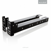 STRUCTURES by Malouf Set of 2 Bolt-On Footboard Extension Brackets Attachment Kit - Cal King