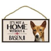 Imagine This Wood Sign for Basenji Dog Breeds