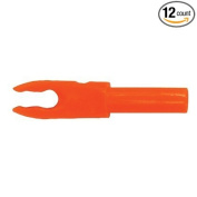 Bohning F Arrow Nocks (Easton G) Std Throat .120 Neon Orange 12/Pkg