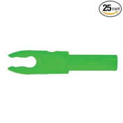 Bohning F Arrow Nocks (Easton G) Std Throat .120 Neon Green 25/Pkg