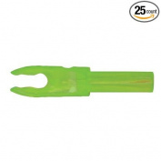 Bohning F Arrow Nocks (Easton G) Std Throat .120 Kiwi 25/Pkg