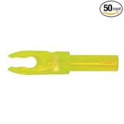 Bohning F Arrow Nocks (Easton G) Std Throat .120 Flo Green 50/Pkg
