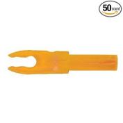 Bohning F Arrow Nocks (Easton G) Std Throat .120 Flo Orange 50/Pkg