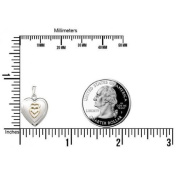 Sterling Silver Small Heart Locket - 1.3cm X 1.3cm Sterling Silver