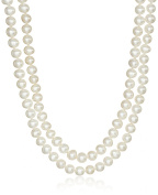 Honora Sterling Silver 5-6mm Endless Rope Freshwater Cultured Pearl Strand