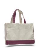"Pack of 12 - Cotton Canvas Standard Tote Bag - Size17""w X 33cm h X 13cm d"