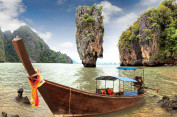 James Bond Island Sightseeing Experience for Two in Thailand - Tinggly Voucher / Gift Card in a Gift Box
