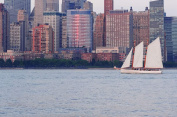 Sailing with Champagne in New York for Two - Tinggly Voucher / Gift Card in a Gift Box