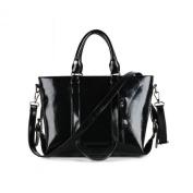S-ZONE 3-Way Women's Genuine Leather Shoulder Tote Bag Handbag