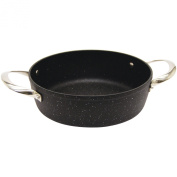 Starfrit The Rock Oven/Bakeware, 20cm by 3.8cm Round, Black