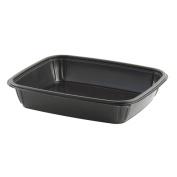 Anchor Packaging 4542080/M1280 Black Mega Meal 2370ml Tray - 100 / CS
