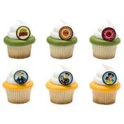 Wild Kratts Crew Cupcake Rings - 24 pc