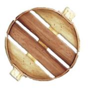 46cm Natural Bushel Basket Lid