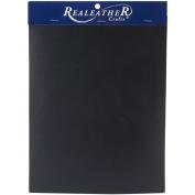 Realeather Crafts C0811-11 Leather Triumph Trim-Piece, 20cm by 28cm , Black