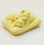 Longzang Cat mould S298 Craft Art Silicone Soap mould Craft Moulds DIY Handmade soap moulds