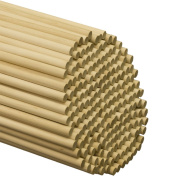 Wooden Dowel Rods 1cm x 90cm - Bag of 25