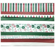 Christmas Tissue Paper Printed and Solid- 120 Sheets