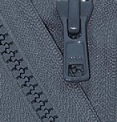 70cm Vislon Zipper ~ YKK #5 Moulded Plastic Sport Zipper ~ Separating - 579 Dark Grey