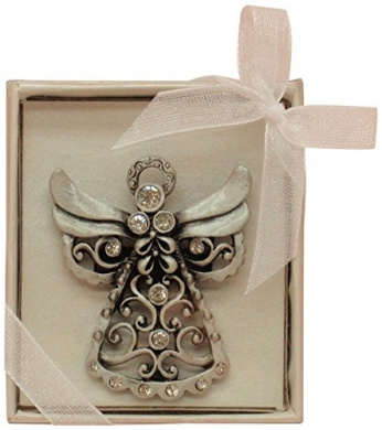 Fei Gifts Angel Pin, 5.1cm by 3.8cm