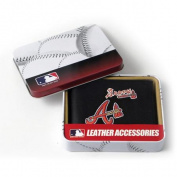 MLB - Men's Atlanta Braves Embroidered Billfold Wallet