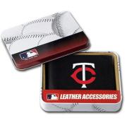 MLB - Men's Minnesota Twins Embroidered Billfold Wallet