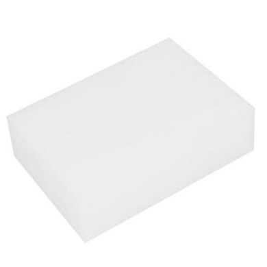 Home Furniture Auto Car Retangle Suction Sponge Block Cleaner Pad White